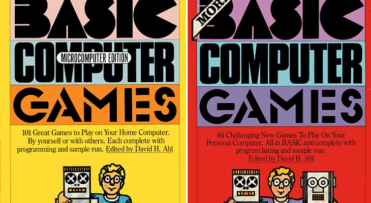 David H. Ahl's BASIC Computer Games books