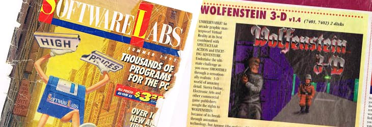 Shareware (downloaded or mail-ordered) was a big deal in the early 90s.