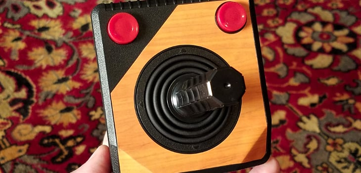 The Trooper - the RetroN 77's update on the Atari 2600 joystick