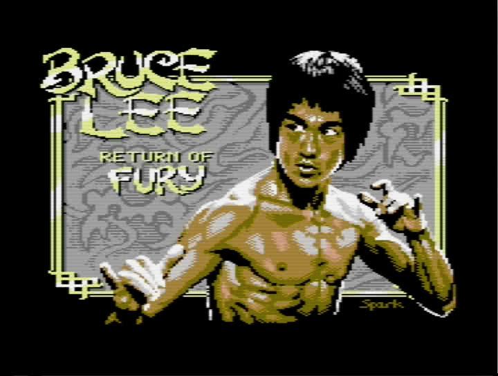 C64 Mini - New Homebrew Game - Return of Fury (title screen)