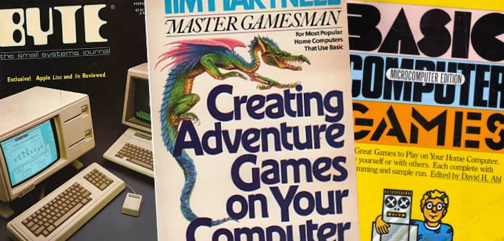 Magazines and books were the source for type-in BASIC games