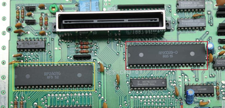 The NES PPU chip
