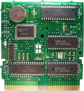 Full size circuit board from NES game Bandit Kings of Ancient China