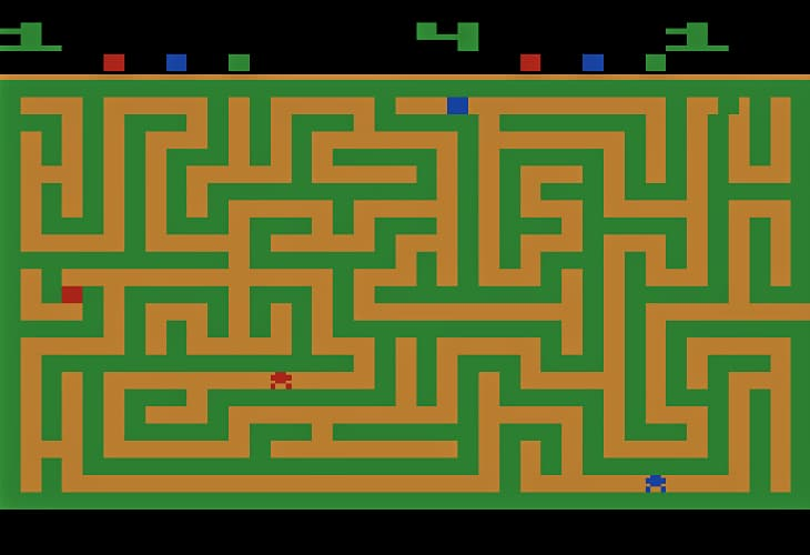 Maze Craze makes you switch rapidly between strategy and tactics - big picture and details