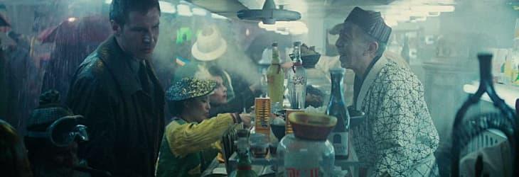 Blade Runner - Deckard at the noodle shop