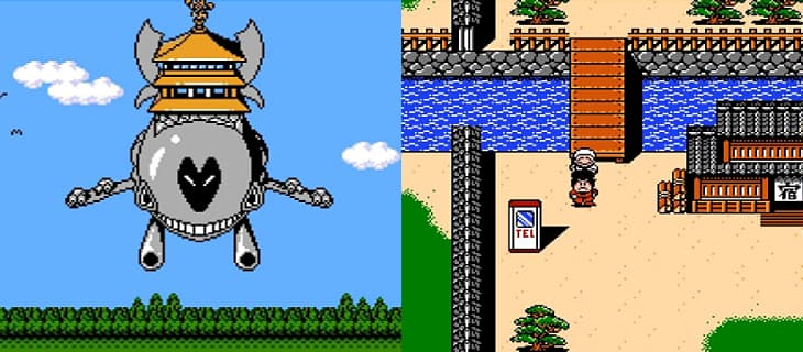Famicom Games: Samurai Pizza Cats, Ganbare Goemon Gaiden