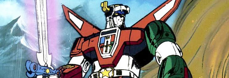 Voltron - Fully assembled robot form